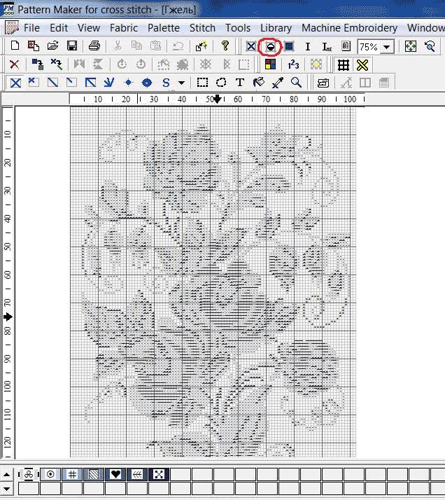 Основы работы с Pattern Maker - Вышивка и ...: zlataya.info/publ/n_uch/komp/pm1/17-1-0-211