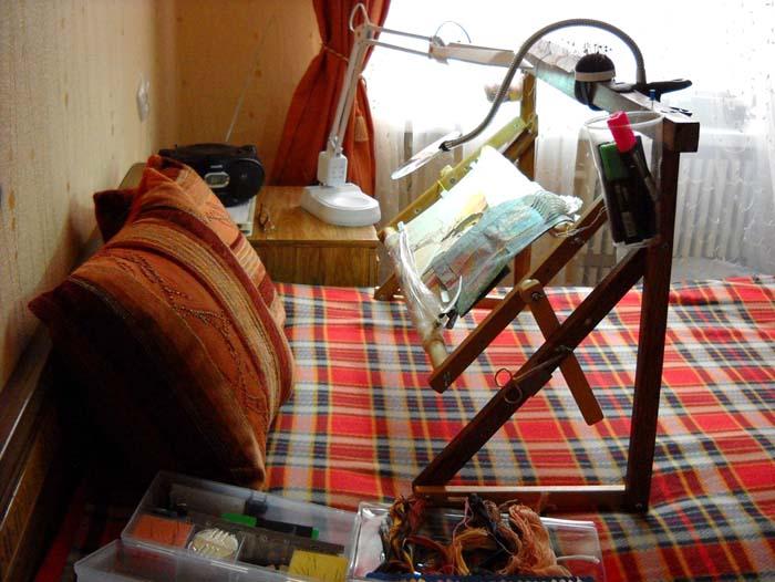 Рабочее место вышивка бисером