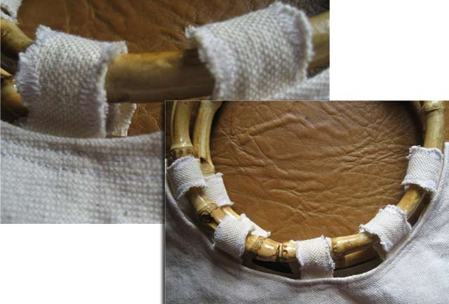 Вышивка из полосок ткани