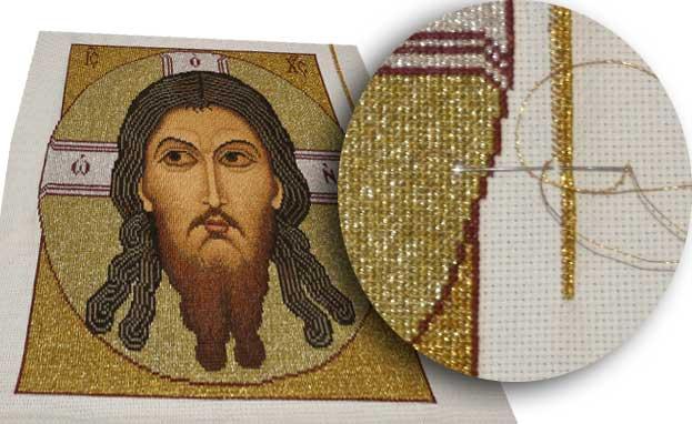 Вышивка крестиком спаси и сохрани 63