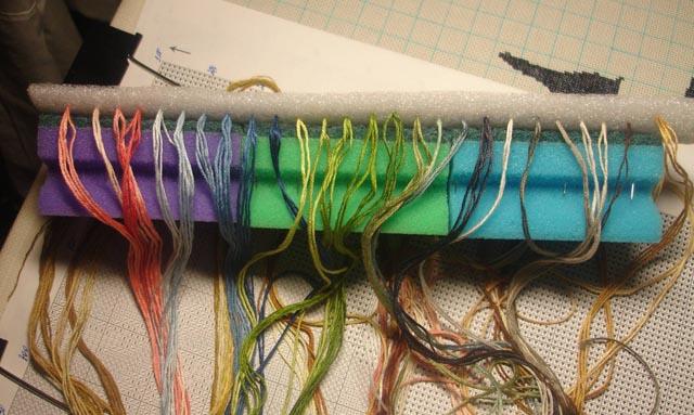 ксерокопию схемы вышивки.