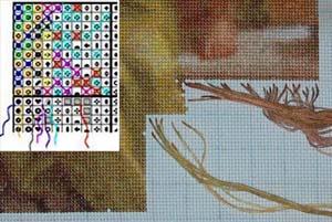 Вышивка методом парковки для начинающих в картинках пошагово