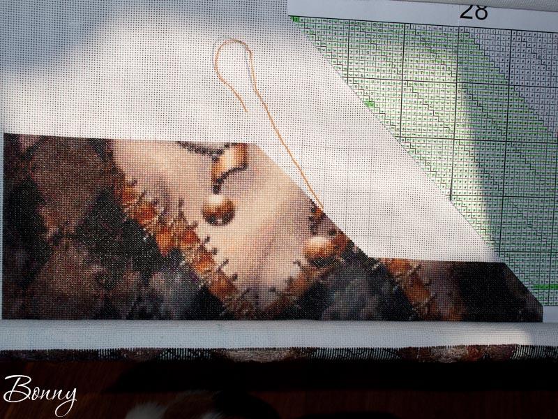 Вышивка методом парковки для начинающих в картинках пошагово, открытки