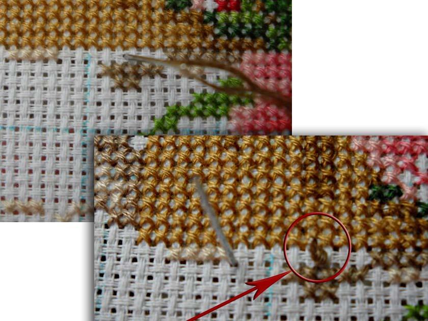 Сложности при вышивке крестом