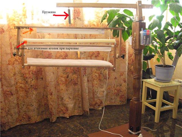 Как сделать станок для вышивания своими руками в домашних условиях