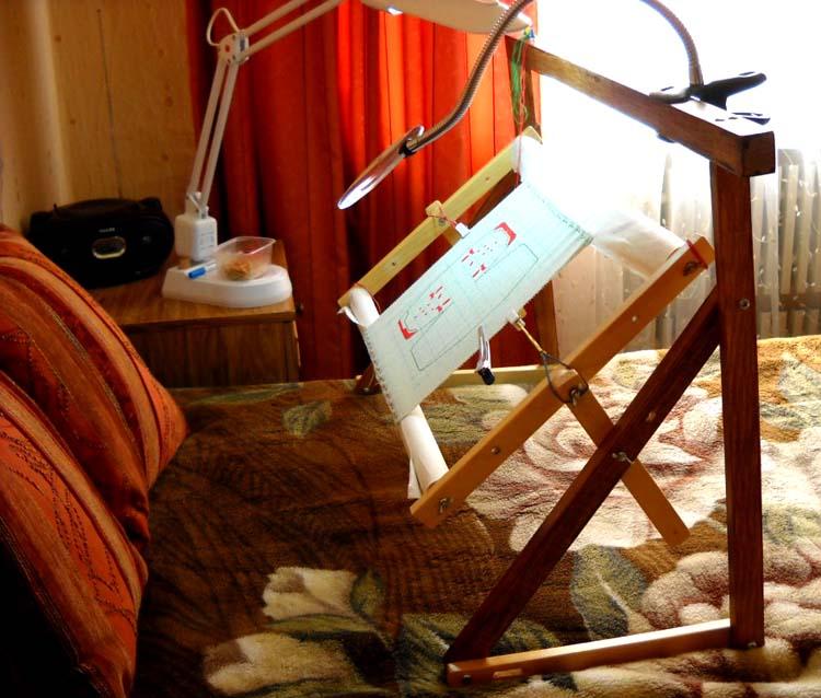 Мастер класс станок для вышивки