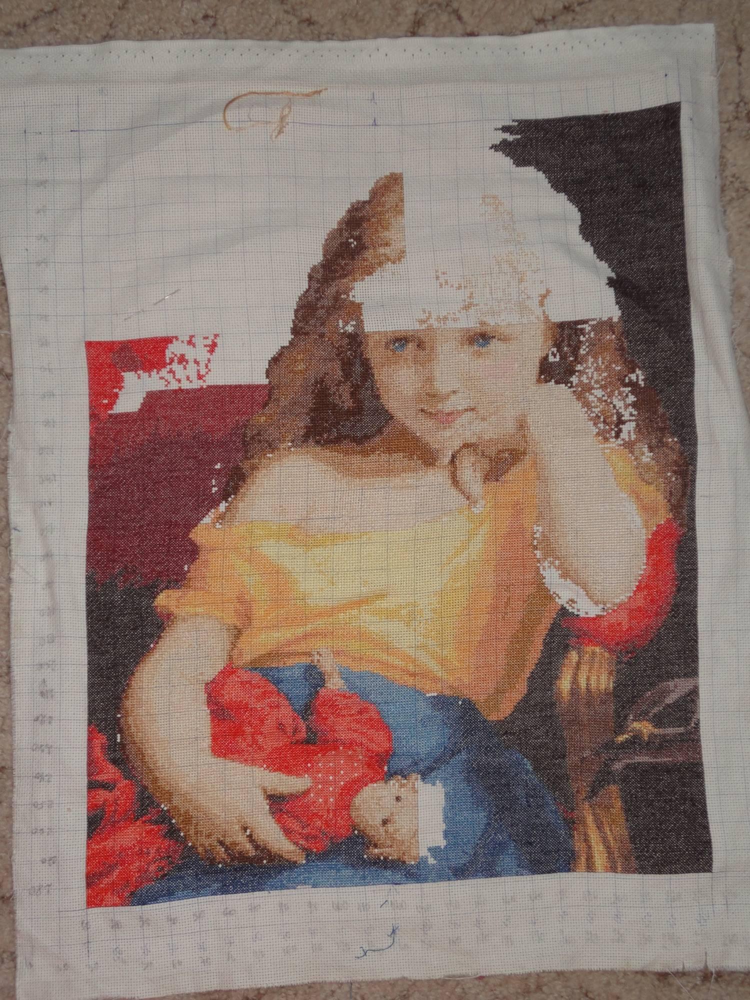 Набор для вышивания Золотое Руно МК-026: вышитые работы