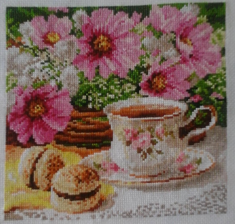 Кофе в вышивке фото