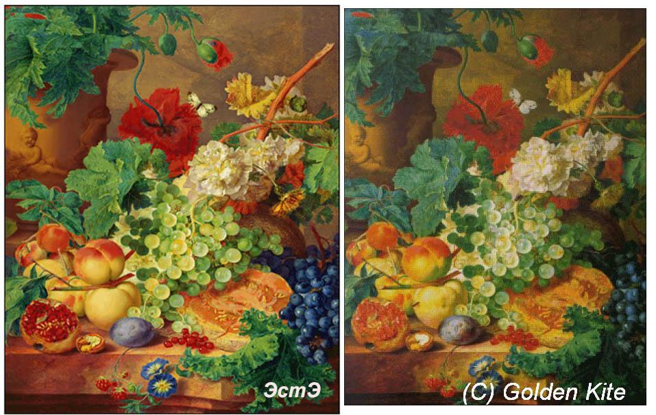 мой Fruit and Flowers от ЭстЭ