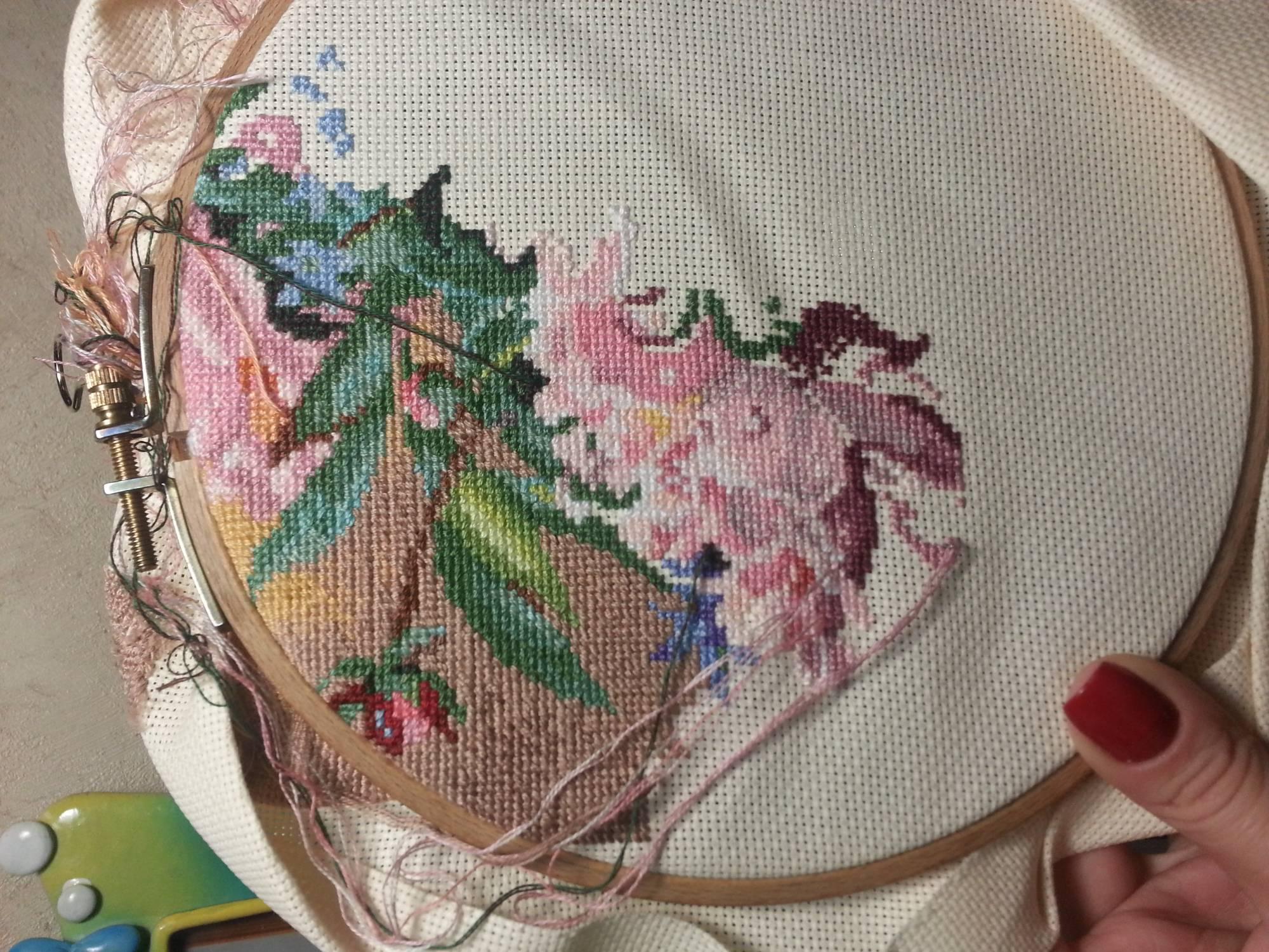 инструкция к вышивке девчушка на пляже арт 65078