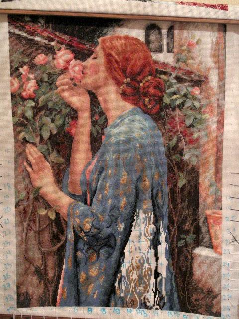 Душа розы вышивка купить в