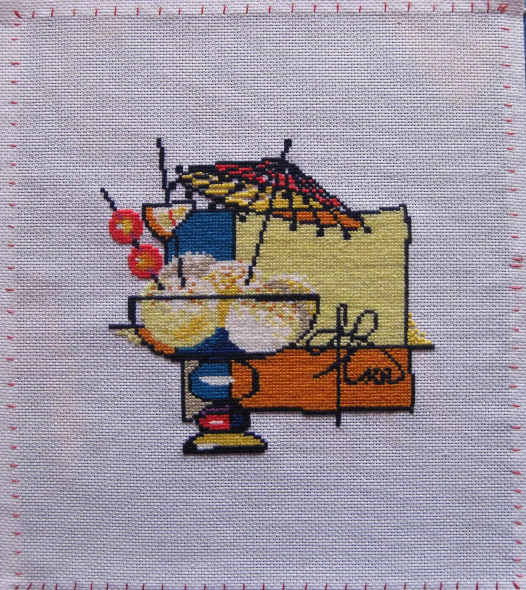 Галерея риолиса вышивки