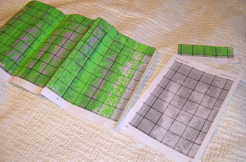 Виды стежков, или как правильно вышивать крестиком 66