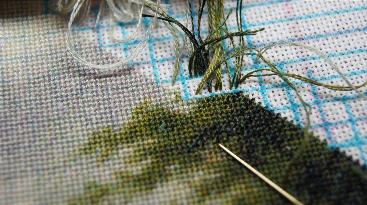 Кадрирование фото для вышивки
