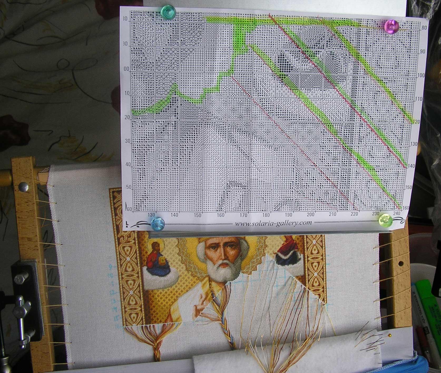 Виды стежков, или как правильно вышивать крестиком 89