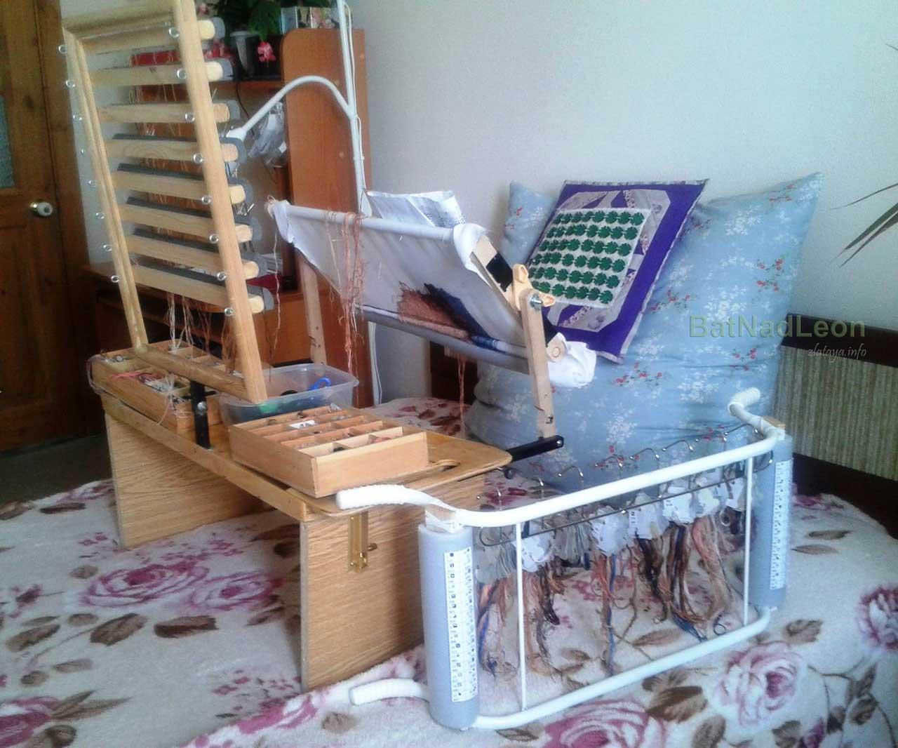 Стол для вышивания бисером своими руками