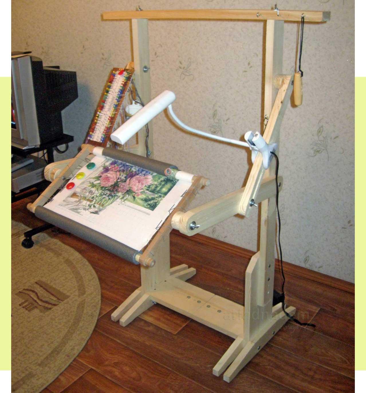 Станок для вышивки своими руками с чертежами