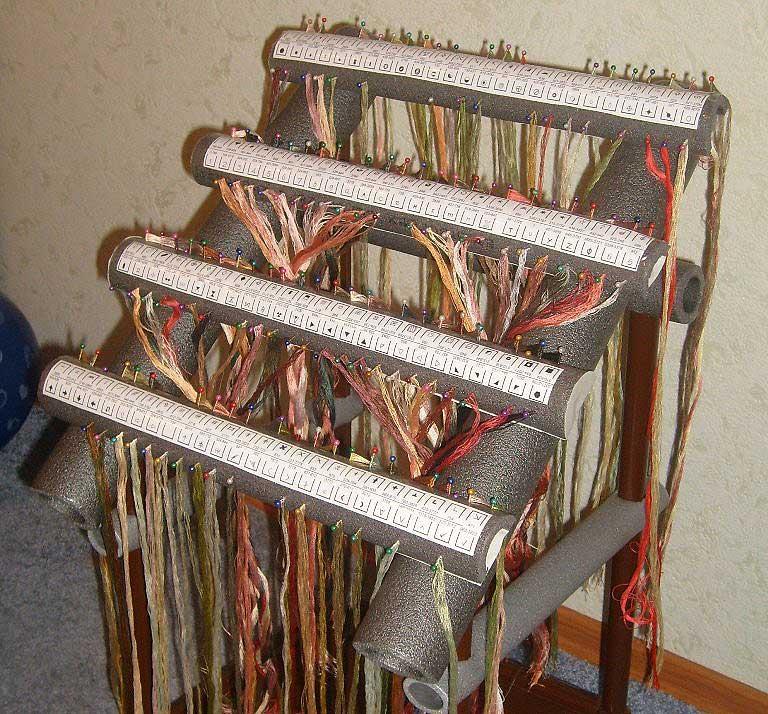 Органайзеры для вышивания своими руками