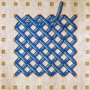 Сложные схемы вышивок крестиком